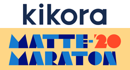 kikora logo med matta maraton 2020