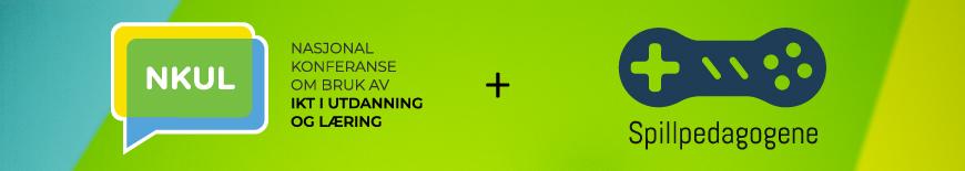 Logoer for NKUL og Spillpedagogene